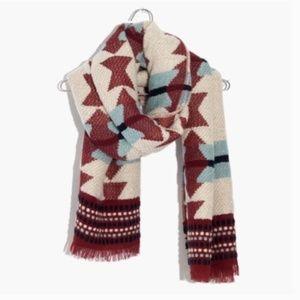 Madewell || Textured Carpet Blanket Scarf